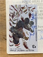Three Hunting Stamps and 1979 Hunting