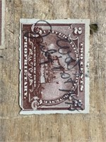 Selection of 1898 .2 Cent Propritay Stamps