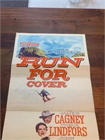 """1955 """"Run For Cover"""" Paramount"""