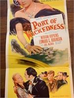 "1954 ""Port of Wickedness"" Samuel"
