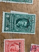Selection of Stock Transfer, Parcel Post