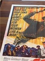 """1963 """"Cattle King"""" Metro Goldwyn Mayer"""