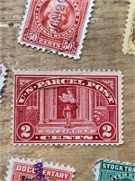 1Selection of US stamps