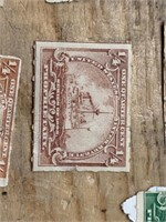 Selection of 1898 1/8 of a Cent to 1 1/4 of a