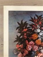 "Reprint  ""A Basket of Flowers"" Hans Bollongier"