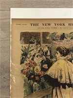 """1897 """"Queen of the Flower Show"""" The New"""