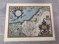 """Reprint 1570 """"The Holy Land, from Abraham"""