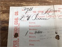 1898 The Upper Lehigh Cole Company