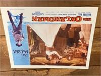 Four The Oklahoman Vintage Lobby Cards