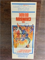 1963 The Crimson Blade Movie Poster