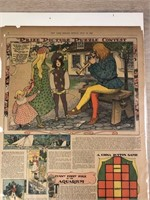 """1902 """"Prize Picture Puzzle Contest"""" The New"""