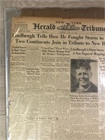 "1927 ""Captain Lindbergh Story"" The New York"