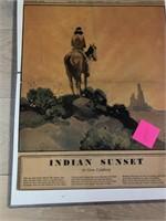 "1938 ""Indian Sunset"" The Denver Post"