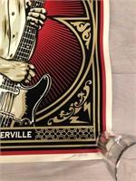 """Signed Limited Edition """"Strummerville"""""""