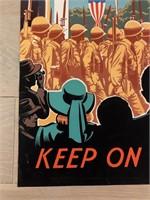 "1943 ""Keep On The Job"" Kelly-Read & CO. Inc."