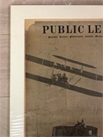 """1909 """"King Alfonso of Spain Sees Wilbur Wright"""