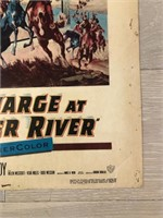 """1953 """"The Charge at Feather River"""" Warner Bros."""