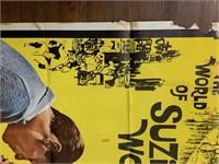 1960 World of Suzie Wong Movie Poster