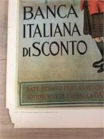 """Reprint 1917 """"Banca Italiana Di Sconto"""""""