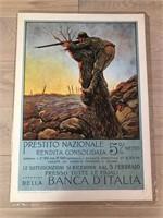 """Reprint 1917 """"Prestito Nazionale"""" Finozzi"""