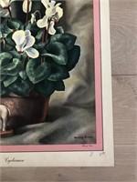 "1945 ""Cyclamen"" Harry Lane - Catalda Fine Arts"