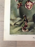 "1945 ""Magnolias"" Harry Lane - Catalda Fine Arts"