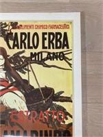 """Reprint 1912 """"Estrato Tamarindo"""" Malerba"""