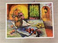 "1973 ""Still Life by Blake"" M. Blake Donald Art C"