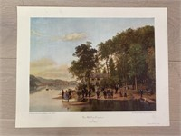 """""""Three Mile Point (Cooperstown)"""" by Louis R. Mig"""