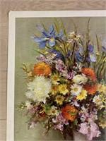"""1968 """"From My Garden"""" by Marcel Dyf"""
