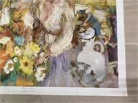 """1971 """"Midsummer Garden"""" by Wallace Bassford"""