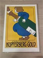 "Reprint 1901 ""Champagne Kupferberg Gold"""
