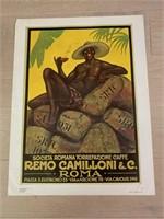 """Reprint 1927 """"Societa Romana Torrefazione Caffe"""""""