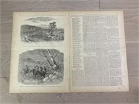 "1883 ""Battle of the Late Civil War"" Pictorial Wa"