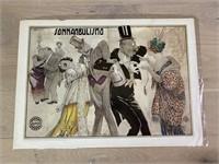 "Reprint 1913 ""Sonnambulismo"" Mauzan"