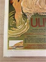 """Reprint 1906 """"Uliveto"""" Dudovich"""