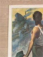 """Reprint 1920 """"Vi. Prestito Nazionale"""" Borgoni"""