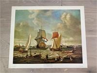"""""""Bords De La Mer Avec Figures Et Navires"""" by"""