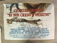 """1976 """"10 Non Credo A Nessuno"""" Charles Bronson"""