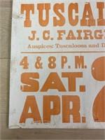 1971 Sells and Gray Circus Poster