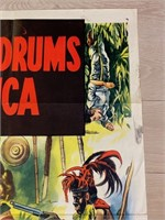 """""""Jungle Drums of Africa"""" Movie Poster -Republic"""