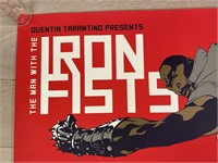 """2012 """"The Man With The Iron Fists"""" Movie Poster"""