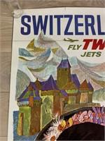 Switzerland Fly TWA Jets by David Klein