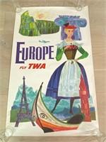 Europe Fly TWA by David Klein