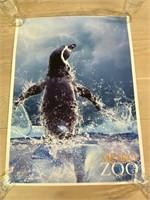 Metro Zoo Penguin Poster