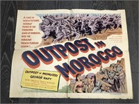"""1949 """"Outpost in Morocco"""" United"""