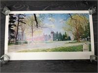"""""""Springtime in Stockbridge"""" Poster"""
