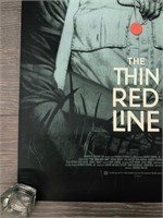 """2016 Artist Proof """"The Thin Red Line"""""""