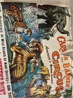 Carson and Barnes Circus Poster