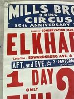 Mills Bros 3 Ring Circus 15th Anniversary
